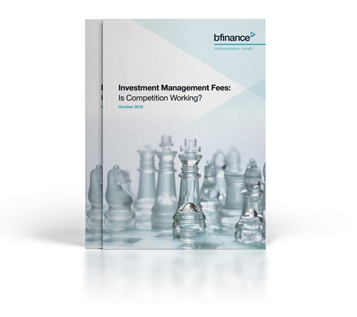 Investment Management Fees - Is Competition Working?